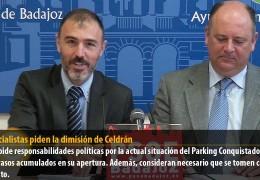 Los socialistas piden la dimisión de Celdrán