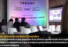 Foro One, en busca de una Nueva Extremadura