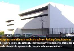 Vegas exige una comisión extraordinaria sobre el Parking Conquistadores