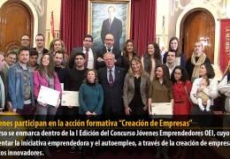 """13 jóvenes participan en la acción formativa """"Creación de Empresas"""""""