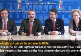 El Corte Inglés patrocinará las entradas de IFEBA