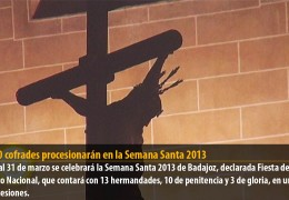 14.000 cofrades procesionarán en la Semana Santa 2013