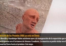 La exposición de los Premios JABA ya está en Évora