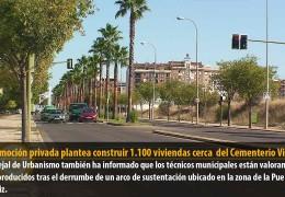La promoción privada plantea construir 1.100 viviendas cerca  del Cementerio Viejo