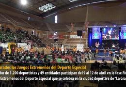 Inaugurados los Juegos Extremeños del Deporte Especial