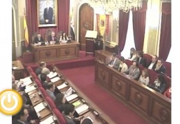 Pleno ordinario de abril de 2013 del Ayuntamiento de Badajoz