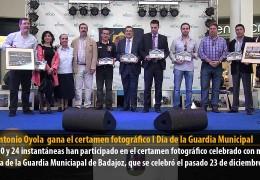 José Antonio Oyola  gana el certamen fotográfico I Día de la Guardia Municipal