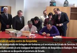 Inaugurado el nuevo centro de Aexpainba