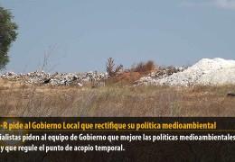 El GMS-R pide al Gobierno Local que rectifique su política medioambiental