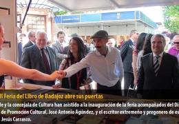 La XXXII Feria del Libro de Badajoz abre sus puertas