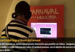 La interactividad llega al Museo del Carnaval
