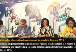 Presentadas las obras seleccionadas en el Vuelo de la Palabra 2013
