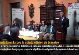 Presentada en Lisboa la quinta edición de Ecuextre