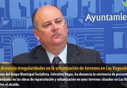 Vegas denuncia irregularidades en la urbanización de terrenos en Las Vaguadas