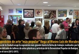 """La exposición de arte """"más popular"""" llega al Museo Luis de Morales"""