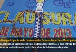 5.000 niños participarán en la clausura de las Escuelas Deportivas Municipales