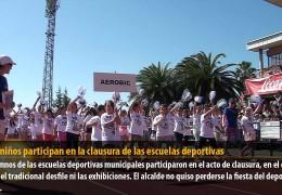 3.000 niños participan en la clausura de las escuelas deportivas
