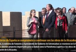 El Gobierno de España se compromete a continuar con las obras de la Alcazaba