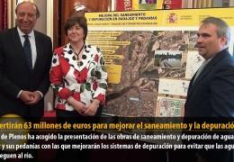 Se invertirán 63 millones de euros para mejorar el saneamiento y la depuración