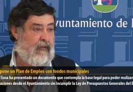 IU propone un Plan de Empleo con fondos municipales