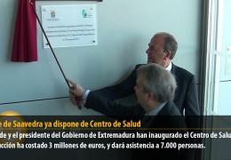 Suerte de Saavedra ya dispone de Centro de Salud