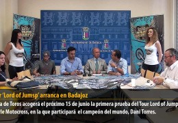 El Tour 'Lord of Jumps' arranca en Badajoz