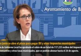 El 25 de junio se abre el plazo para pagar IBI y otros impuestos municipales