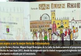 San Juan aspira a ser la mejor feria de Extremadura