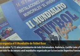 Badajoz organiza el II Mundialito de Fútbol Base