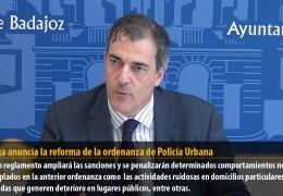 Astorga anuncia la reforma de la ordenanza de Policía Urbana