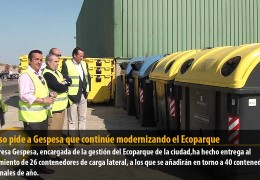 Fragoso pide a Gespesa que continúe modernizando el Ecoparque
