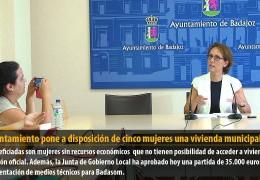 El Ayuntamiento pone a disposición de cinco mujeres una vivienda municipal