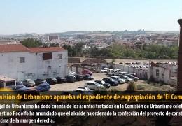 La Comisión de Urbanismo aprueba el expediente de expropiación de 'El Campillo'
