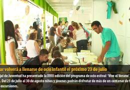 Castelar volverá a llenarse de ocio infantil el próximo 23 de julio