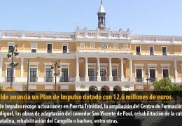El alcalde anuncia un Plan de Impulso dotado con 12,6 millones de euros