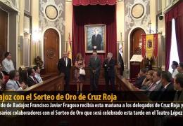 Badajoz con el Sorteo de Oro de Cruz Roja