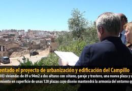 Presentado el proyecto de urbanización y edificación del Campillo