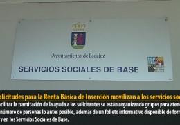 Las solicitudes para la Renta Básica de Inserción movilizan a los servicios sociales
