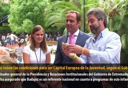 Badajoz reúne las condiciones para ser Capital Europea de la Juventud, según el GobEx