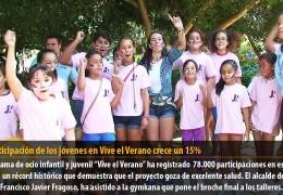 La participación de los jóvenes en Vive el Verano crece un 15%