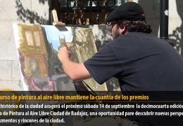 El concurso de pintura al aire libre mantiene la cuantía de los premios