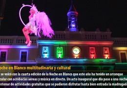 Una Noche en Blanco multitudinaria y cultural