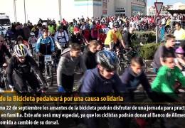 El Día de la Bicicleta pedaleará por una causa solidaria