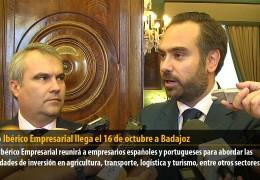 El Foro Ibérico Empresarial llega el 16 de octubre a Badajoz