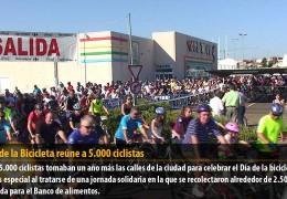 El Día de la Bicicleta reúne a 5.000 ciclistas