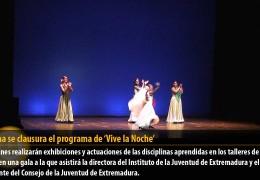 Mañana se clausura el programa de 'Vive la Noche'
