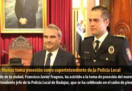 Rubén Muñoz toma posesión como superintendente de la Policía Local