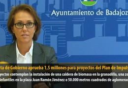 La Junta de Gobierno aprueba 1,5 millones para proyectos del Plan de Impulso