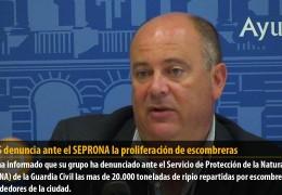 El GMS denuncia ante el SEPRONA la proliferación de escombreras