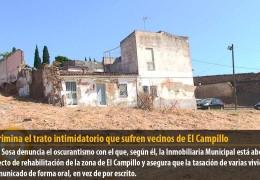 IU recrimina el trato intimidatorio que sufren vecinos de El Campillo